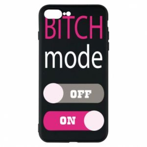 Phone case for iPhone 7 Plus Bitch mode