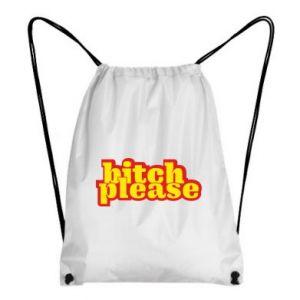 Plecak-worek Bitch please