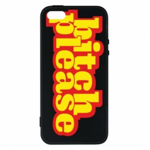 Etui na iPhone 5/5S/SE Bitch please