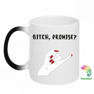 Kubek-kameleon Bitch, promise?