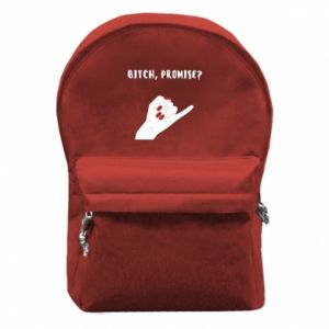 Backpack with front pocket Bitch, promise?