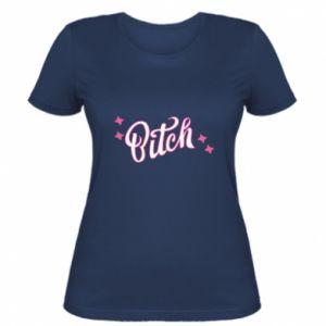 Damska koszulka Bitch