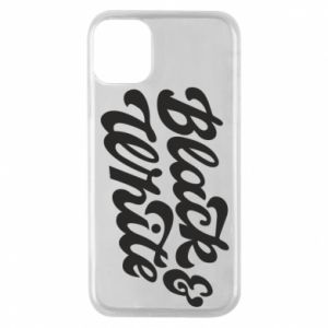 Etui na iPhone 11 Pro Black and white