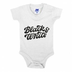 Body dla dzieci Black and white