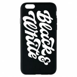 Etui na iPhone 6/6S Black and white