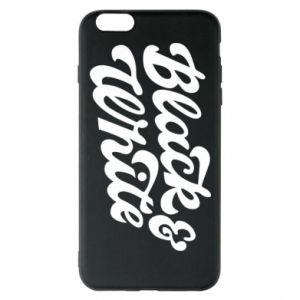Etui na iPhone 6 Plus/6S Plus Black and white