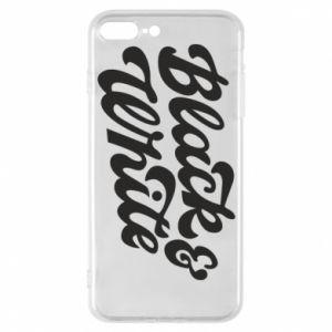 Etui na iPhone 7 Plus Black and white