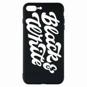 Etui na iPhone 8 Plus Black and white
