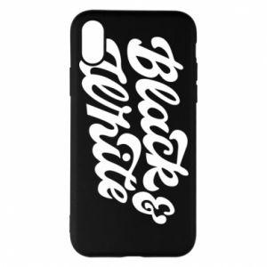 Etui na iPhone X/Xs Black and white