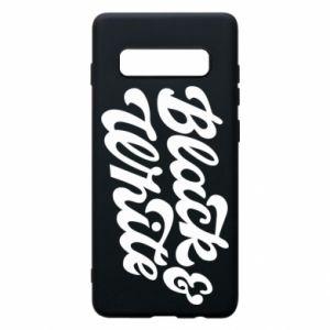 Etui na Samsung S10+ Black and white