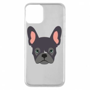 Etui na iPhone 11 Black french bulldog