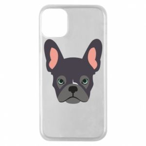 Etui na iPhone 11 Pro Black french bulldog