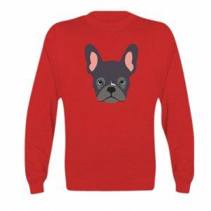 Bluza dziecięca Black french bulldog