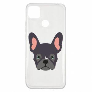Etui na Xiaomi Redmi 9c Black french bulldog