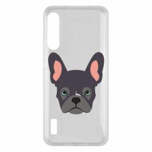 Etui na Xiaomi Mi A3 Black french bulldog
