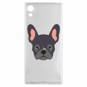 Etui na Sony Xperia XA1 Black french bulldog