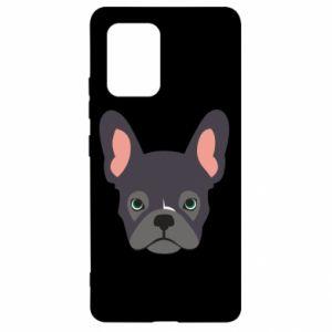 Etui na Samsung S10 Lite Black french bulldog