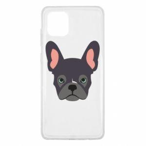 Etui na Samsung Note 10 Lite Black french bulldog