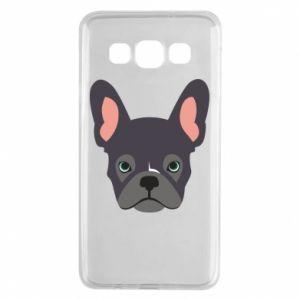 Etui na Samsung A3 2015 Black french bulldog