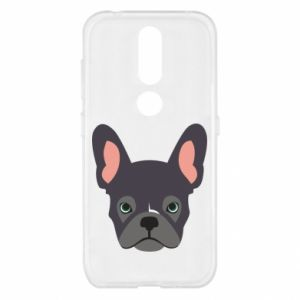 Etui na Nokia 4.2 Black french bulldog