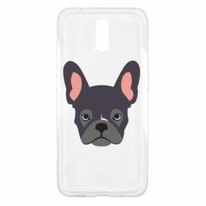 Etui na Nokia 2.3 Black french bulldog