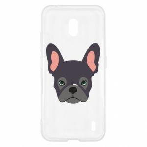 Etui na Nokia 2.2 Black french bulldog