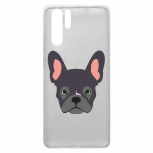 Etui na Huawei P30 Pro Black french bulldog