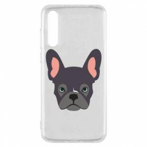 Etui na Huawei P20 Pro Black french bulldog