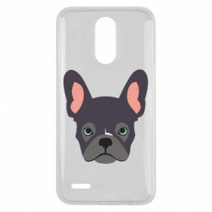 Etui na Lg K10 2017 Black french bulldog