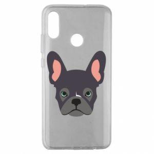 Etui na Huawei Honor 10 Lite Black french bulldog