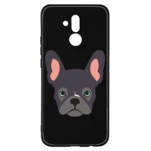 Etui na Huawei Mate 20 Lite Black french bulldog
