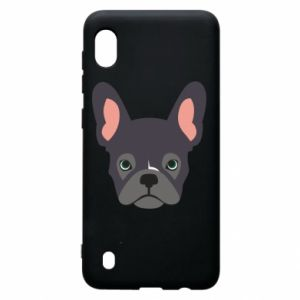Etui na Samsung A10 Black french bulldog