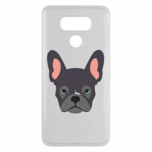 Etui na LG G6 Black french bulldog