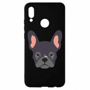 Etui na Huawei P Smart 2019 Black french bulldog