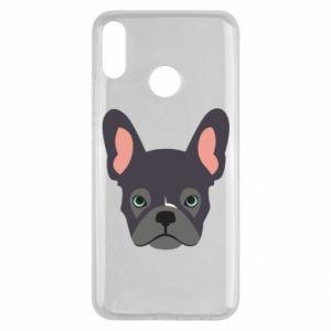 Etui na Huawei Y9 2019 Black french bulldog