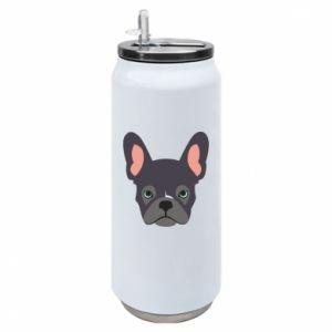 Puszka termiczna Black french bulldog