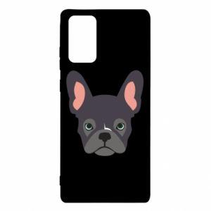Etui na Samsung Note 20 Black french bulldog
