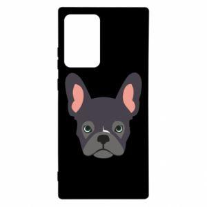 Etui na Samsung Note 20 Ultra Black french bulldog