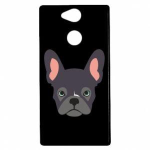 Etui na Sony Xperia XA2 Black french bulldog