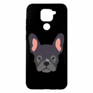 Xiaomi Redmi Note 9 / Redmi 10X case % print% Black french bulldog