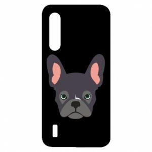 Etui na Xiaomi Mi9 Lite Black french bulldog