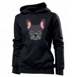 Damska bluza Black french bulldog