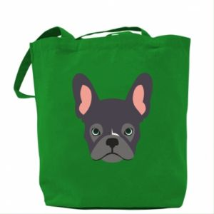 Torba Black french bulldog