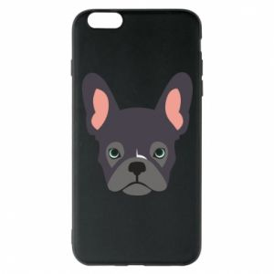 Etui na iPhone 6 Plus/6S Plus Black french bulldog