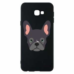 Etui na Samsung J4 Plus 2018 Black french bulldog
