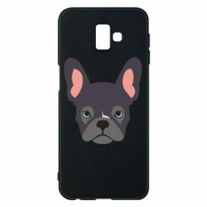 Etui na Samsung J6 Plus 2018 Black french bulldog