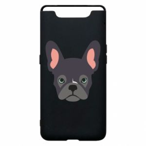Etui na Samsung A80 Black french bulldog
