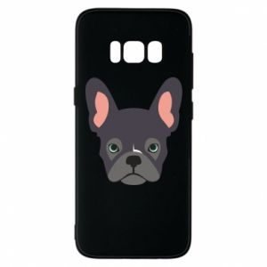 Etui na Samsung S8 Black french bulldog