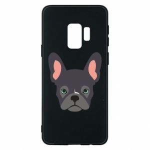 Etui na Samsung S9 Black french bulldog