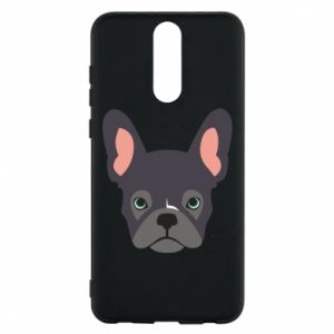 Etui na Huawei Mate 10 Lite Black french bulldog